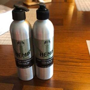 body shop Makeup - HEMP  conditioner NWT 8oz